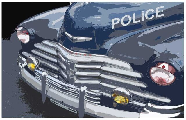 1995 24 X 36 CHEVROLET POLICE VEHICLES CAPRICE 9C1 POSTER CRUISER DEALER