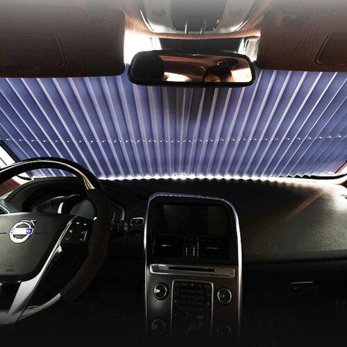 Car Windshield Visor Retractable Front Rear Window Sun Shade Folding Auto Cover