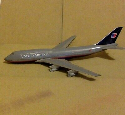 Vintage Toy Metal Airplane United Airlines 11 Long Made In Germany Ebay