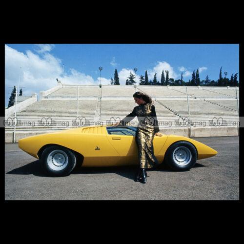 #pha.035969 Photo LAMBORGHINI COUNTACH LP500 1971 BERTONE