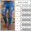 Men-039-s-Ripped-Skinny-Jeans-Stretch-Destroyed-Frayed-Slim-Fit-Denim-Pants-Trousers thumbnail 12