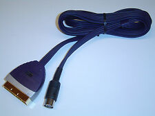 COMMODORE 64 S-VIDEO + COMPOSITE SCART CABLE HIGH PERFORMANCE SVIDEO C64 128 NEW