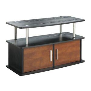 Convenience-Concepts-Designs2Go-Deluxe-2-Door-TV-Stand-Cherry-151165CH