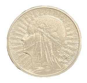 2 ZLOTE 1934 POLAND SILVER COIN