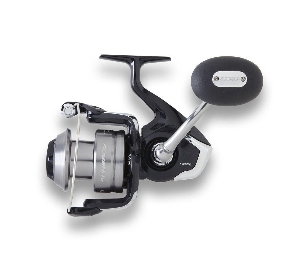 Shimano Spheros SW5000 4.6 1 DestroSinistra Mano Pesca Spinning Mulinello