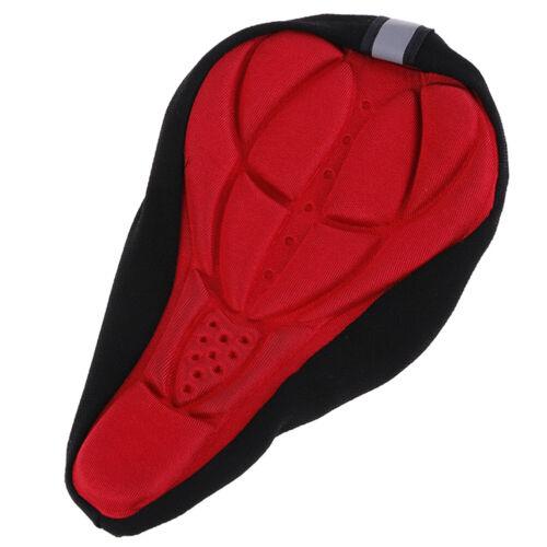 Bike bicycle saddle seat cover pad padded soft cushion comfor/_ti