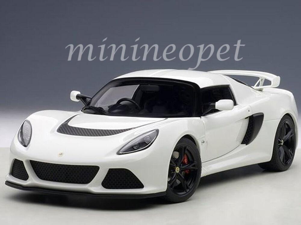 AUTOart 75383 LOTUS EXIGE S 1 18 DIECAST MODEL CAR WHITE
