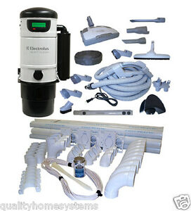 Electrolux Quietclean Pu3650 Central Vac Vacuum System Ebay
