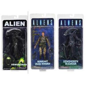 Alien-Xenomorph-Warrior-Sergeant-Craig-Windrix-PVC-Action-Figure-Model-Toy