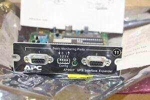 Intelligent Apc Ap9607 Ss Interface Xpander Card, Nouveau Dans Neuf Dans Sa Boîte, Ap 9607-afficher Le Titre D'origine MatéRiaux De Qualité SupéRieure