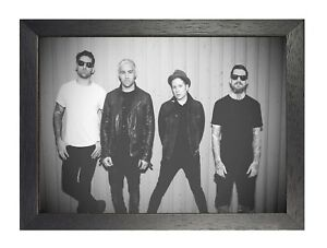 Fall Out Boy 10 Photo American Rock Band Print Heavy Metal Picture Music Poster