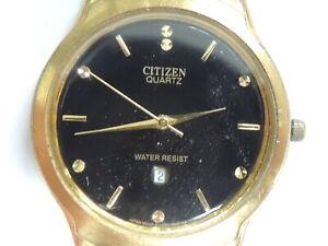 """Vintage Timeless Classic Dynamic """"Citizen"""" Quartz Watch For Parts Or Restoration"""