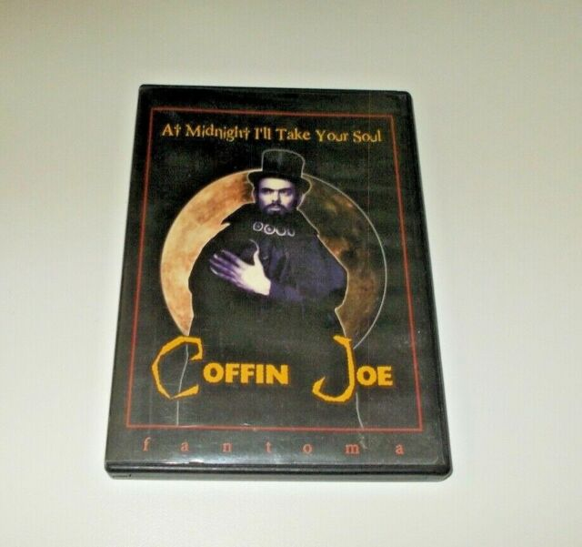 At Midnight I'll take Your Soul DVD Fantoma includes comic book Coffin Joe