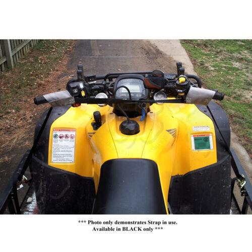 ZipStrap Handle Bar Tie Down Black Motorcycle Grip Cam Buckle Cargo Strap Cargo