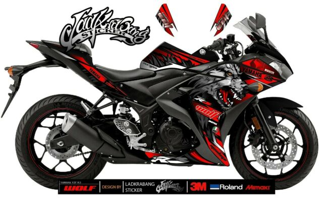Yamaha Yzf R25r3 Decals Stickers Graphics Kit