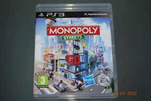 Monopoly Streets PS3 Playstation 3 ** FREE UK LIVRAISON **