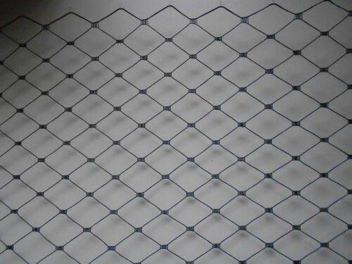 """Blanco O Negro Jaula Para Pájaros//Merry Viuda Net cubrían 12/"""" de ancho en una opción de Marfil"""