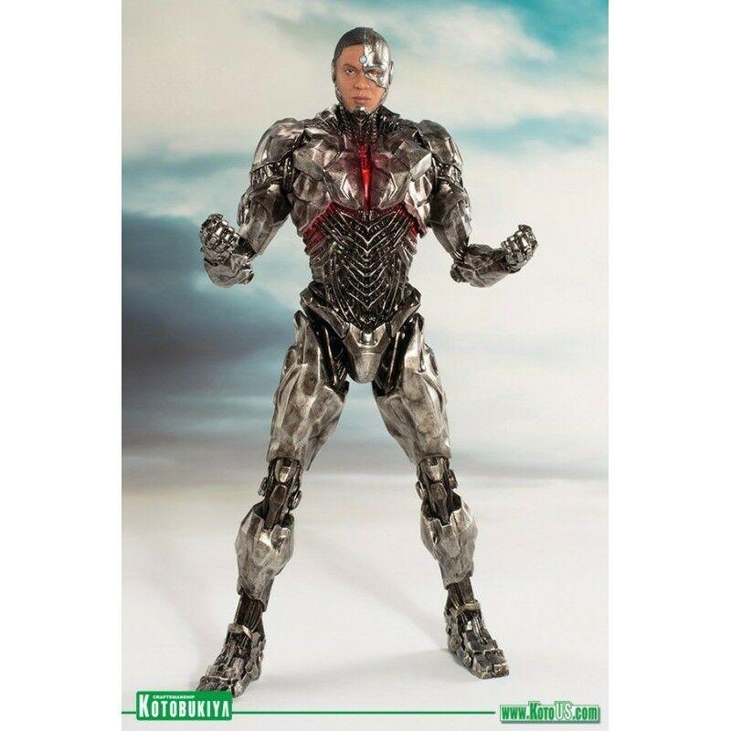 Kotobukiya - Justice League Movie - Cyborg konstFX Staty - New