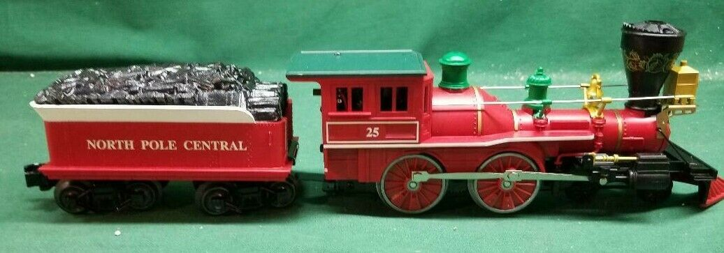 Lionel O Gauge Christmas 4-4-0 and Tender