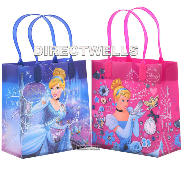 6 Pcs Princess Cinderella Authentic Licensed Small Party Favor Goo Gift Bags
