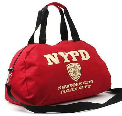 NYPD Travel Shoulder Bag  Unisex Cross Bag Boston Sports bag  Korean