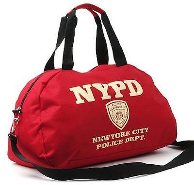 NYPD Travel Shoulder Bag  Unisex Cross Bag Boston Sports bag  Korean