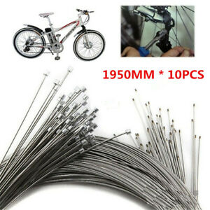 10PCS-Bicycle-Shift-Shifter-Derailleur-Gear-Stainless-Steel-Inner-Cable-Wire-NEW