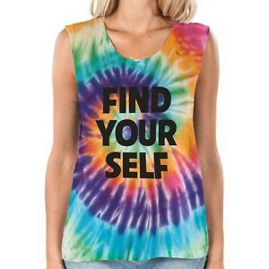 556b5fe31 2014 NWT WOMENS ELEMENT FIND YOURSELF TANK TOP SHIRT $40 M rainbow ...