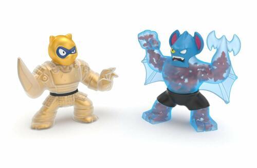 Golden Pantaro Vs Battaxe New Heroes of Goo Jit Zu Water Blast Versus 2 Pack