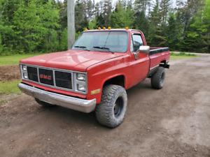 1985 GMC high Sierra 3/4 ton 4x4