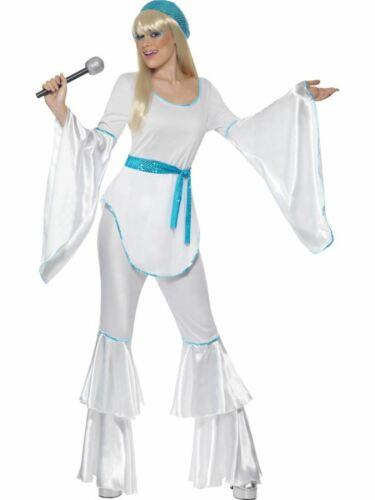 1960s 1970s Disco Diva Costume Da Donna Costume Vestito da donna