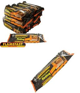 12 flamefast lumière instantanée sans fumée feu log durable pas bois Chiminea Barbecue-afficher le titre d`origine EiQIfCTf-07211853-784899995