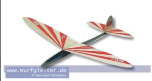 Modellbau Holz Dixi 2 Balsaholz-Wurfgleiter 100100 Bausatz Wurfgleiter
