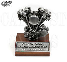 Harley Davidson Motor Statue HD Motor Model Knucklehead Replica Engine Statue