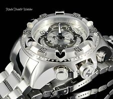 Invicta Reserve 52mm Excursion TOURING EDITION Swiss Chronograph SILVER Watch