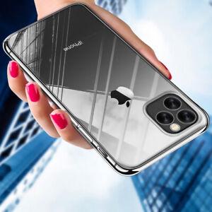 Trasparente-Completo-Cover-Sottile-Rigida-Per-IPHONE-Xs-Massimo-XR-X-6s-7-8-Piu