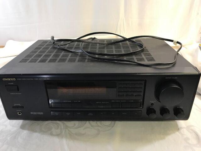 Onkyo TX SV 424 5 Channel 955 Watt Receiver