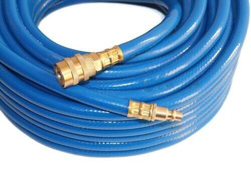 Air compressor hose with quick coupling 20m