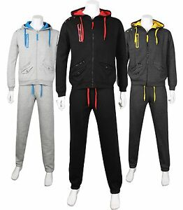 Mens-Tracksuit-All-In-One-Hooded-Jumpsuit-Single-Pajama-Set-Palysuit-Hoody