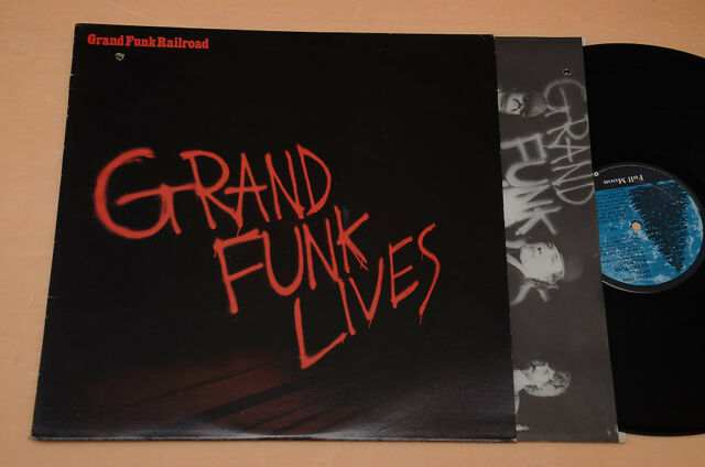 GRAND FUNK RAILROAD LP LIVES 1°ST ORIGINAL+INNER AUDIOPHILES EX