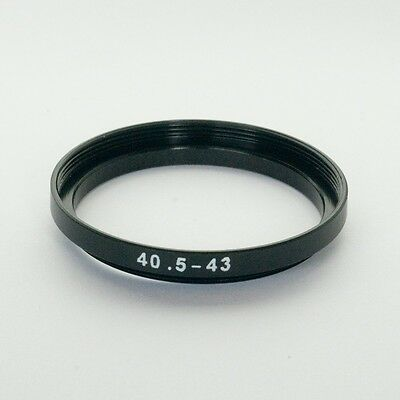 40.5mm to 43mm Stepping Step Up Filter Ring Adapter 40.5mm-43mm