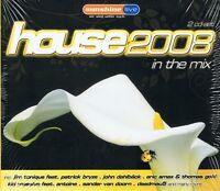House 2008 in the Mix - NEU - 2 CDs Enur Feat. Natasha Azzido Da Bass Tomcraft