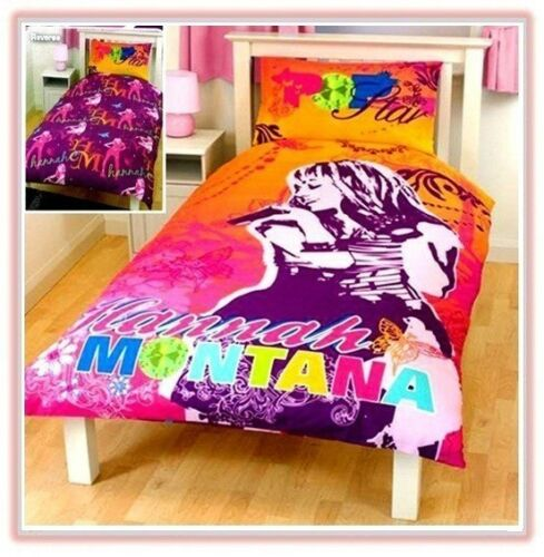 Disney Hannah Montana Gem Single Duvet Quilt Cover