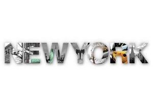 Wandbild-mal-anders-als-3D-DEKO-BUCHSTABEN-gt-NEW-YORK-lt-Einzelne-Acrylelemente