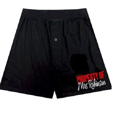 Personalised mens boxers//boxer shorts  Property of your name wedding valentine/'s