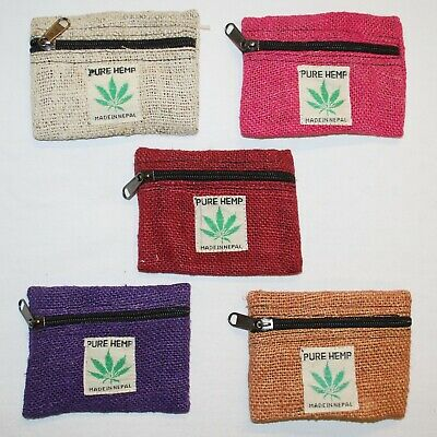 Fair Trade Hemp Wallet Eco Friendly Hand Made Hippy Boho Hippie From Nepal New