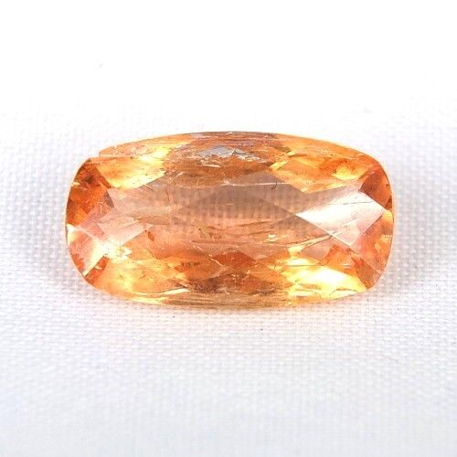 TOP RARE IMPERIAL TOPAZ   5,93 Ct Unbehandelt orange Imperial Topas Brasilien