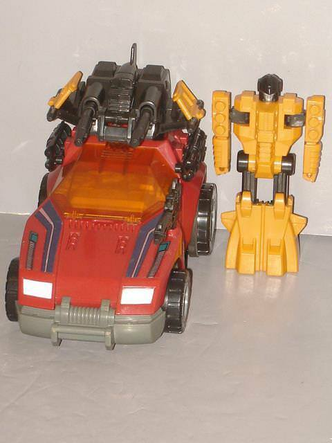 G1 TRANSFORMER PRETENDER GUNRUNNER COMPLETE LOT   4 CLEANED