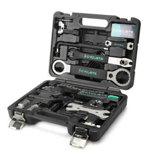 Details about  /18 In 1 Wrench Hex Cycling Multitool Chain Pedal Bicycle Repair Tools Box Kits