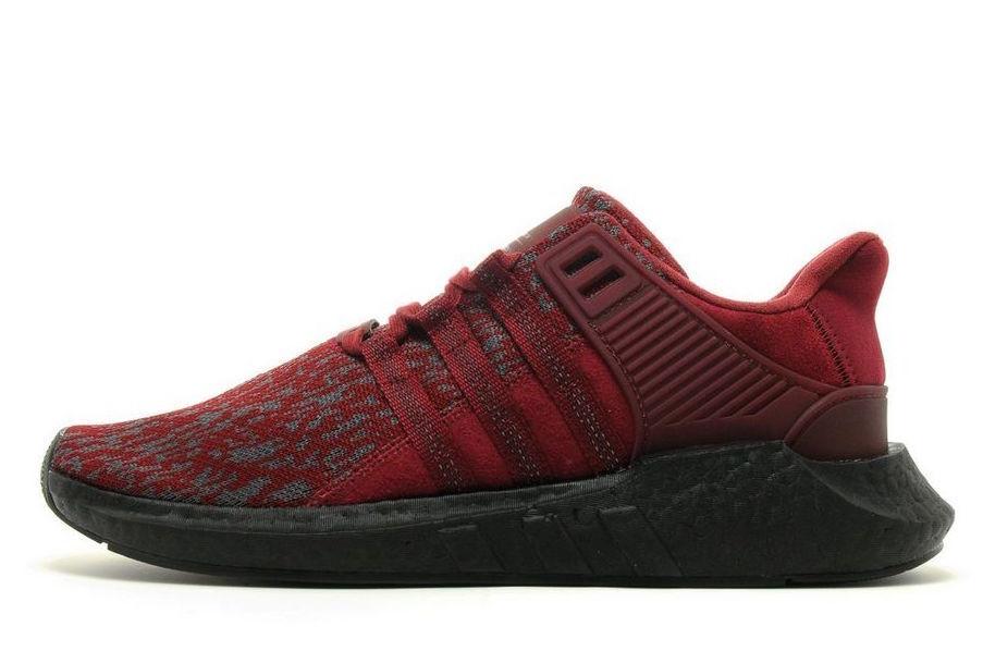 Adidas ltd ultra impulso eqt sostegno 93 / 17 ltd Adidas borgogna nero dimensioni 11,5.ac8169 582265